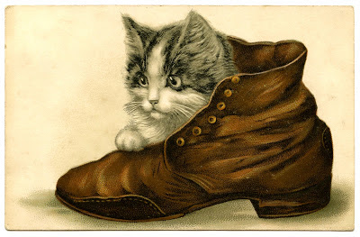 kitten-shoe-Vintage-Image-Graphics-Fairy